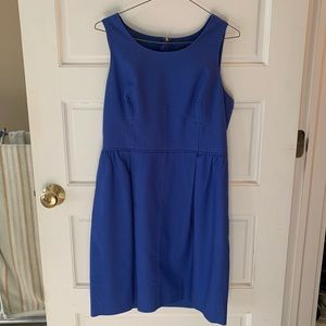 J. Crew Blue Dress, Size 10